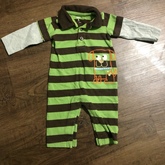 e6361ea1d Carter's One Pieces | 315 Carters Baby Boy Layered Look Jumpsuit 6m ...